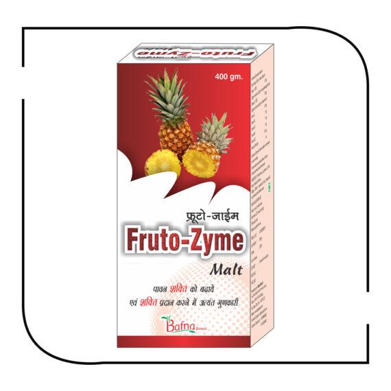 Fruto-Zyme malt 400 gm