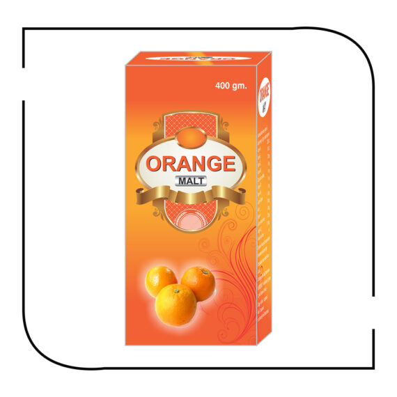Orange malt 400 gm