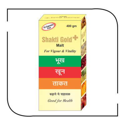 Shakti Gold + malt 400 gm