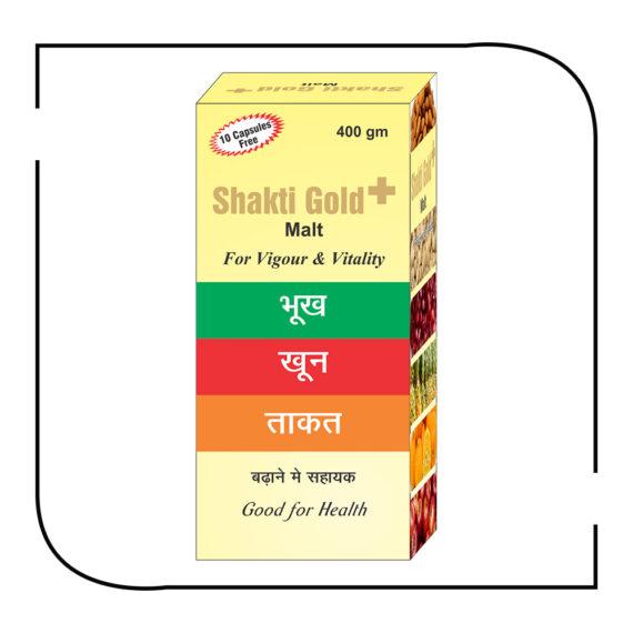 Shakti Gold + malt 400 gm