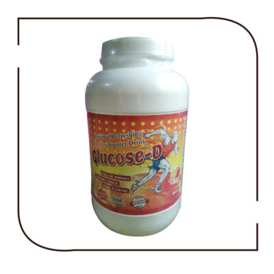 GLUCOSE-D 500gm (Jar) Orange Flavour